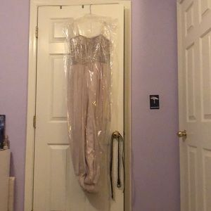 A prom dress (worn once)